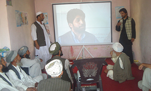 Mobile Cinema Project to Promote Health Messages